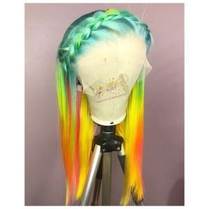 Fantasy colored wig